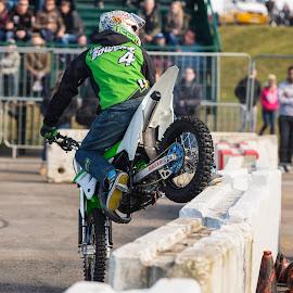 Lee Bowers by Mike Newland - Sports & Fitness Motorsports ( bike, stunt,  )