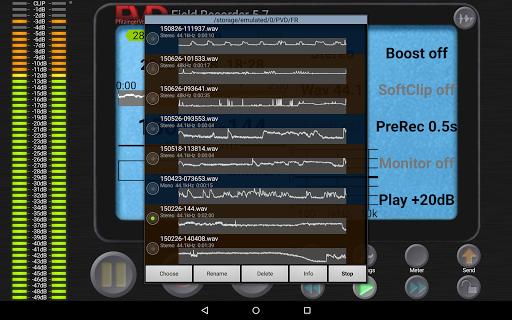 Field Recorder - screenshot