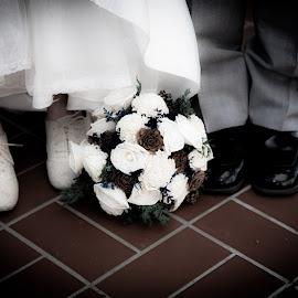 Wedding Shoes by Richard States - Wedding Bride & Groom ( wedding,  )