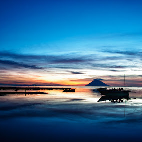 One Million Dolar View by Donny Koerniawan - Landscapes Waterscapes