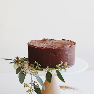 A Simple Chocolate Cake