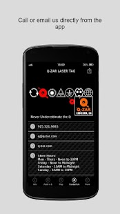 Q-ZAR LASER TAG - screenshot