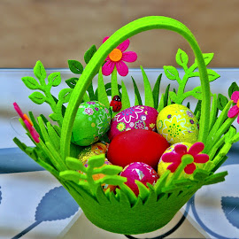 Eggs all around III by Ciprian Apetrei - Public Holidays Easter ( eggs · easter · still life · decorations )