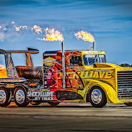 Shock Wave by Ron Meyers - Transportation Automobiles