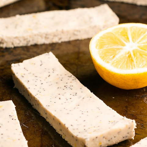 Lemon Poppy Seed Protein Bars