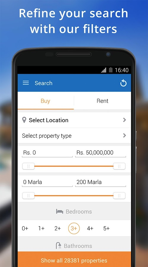 Lamudi Real Estate App Screenshot 1