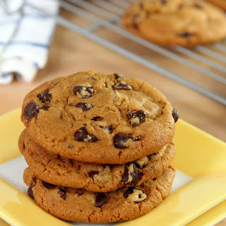 Brown Butter and Molasses Chocolate Chip Cookies