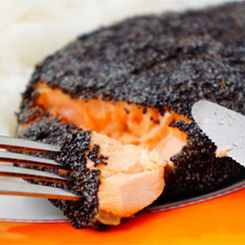 Poppy Seed-Crusted Salmon