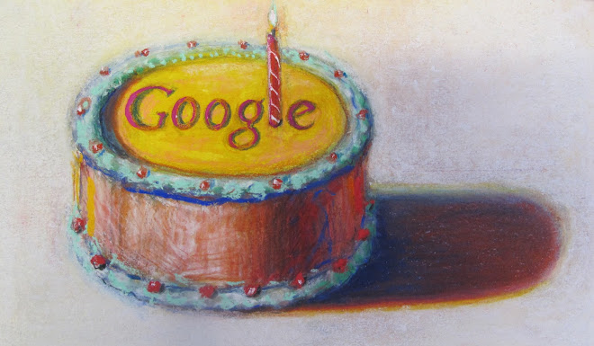 Googles 12th Birthday By Wayne Thiebaud