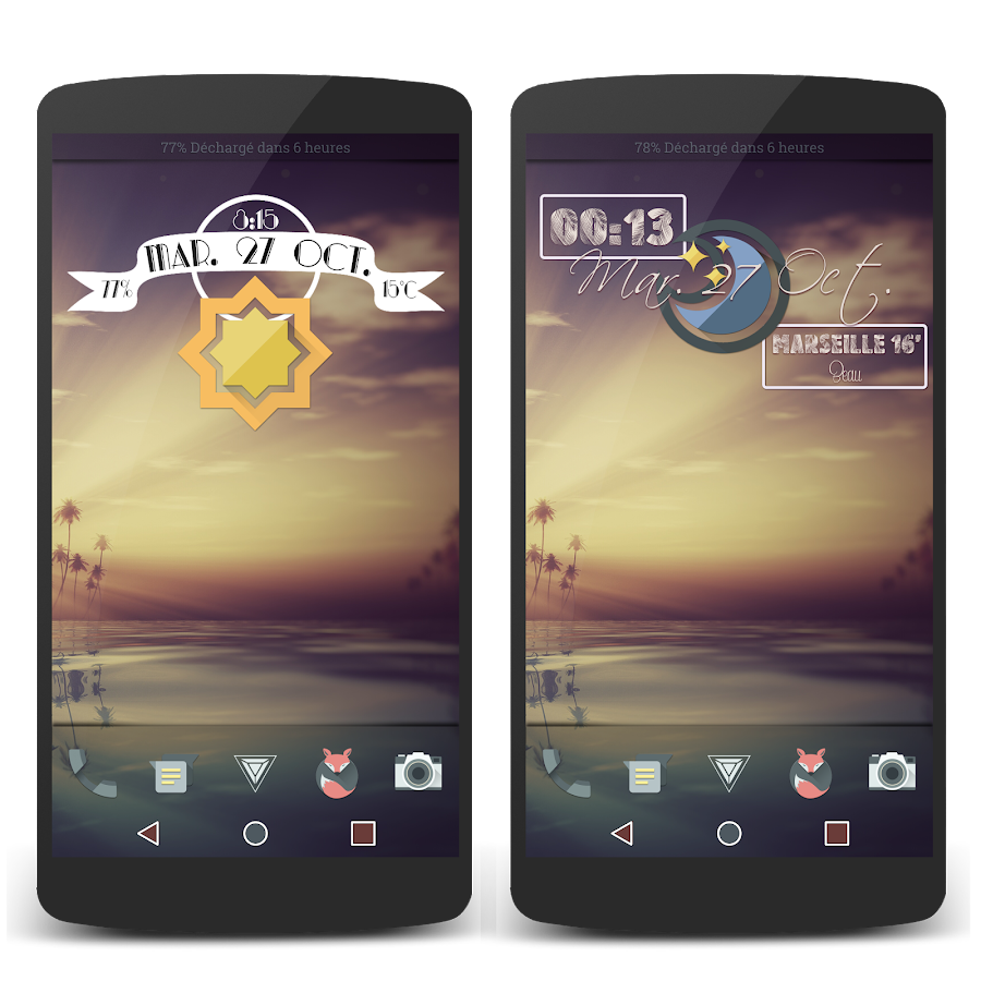 Retro Meteo Widgets by LP Screenshot 5