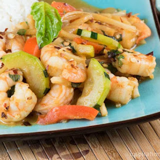 Spicy Red Curry Shrimp