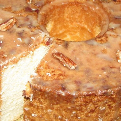 Pecan Sour Cream Pound Cake Recipe — Dishmaps
