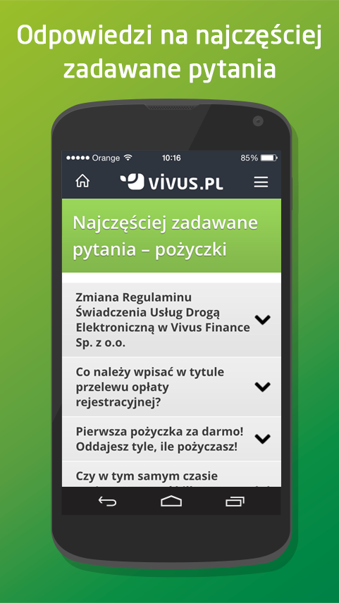 Vivus.pl Screenshot 3