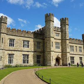 The Castle by Cheryl Thomas - Buildings & Architecture Other Exteriors ( structure, old, england, stone, castle,  )