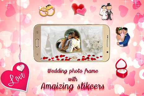 Wedding Photo Frame - screenshot