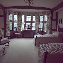 Guest Bedroom  by Lorraine D.  Heaney - Buildings & Architecture Public & Historical