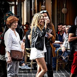 Woman  by Jim Antonicello - People Street & Candids ( rome, woman, italy )