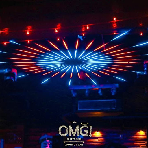 Oh My God-Cafe OMG, Connaught Place (CP), Connaught Place (CP) logo