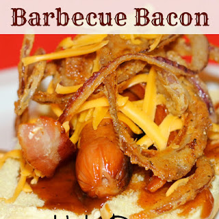 Barbecue Bacon Hot Dog