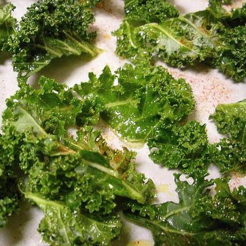 Garlicky Roasted Kale