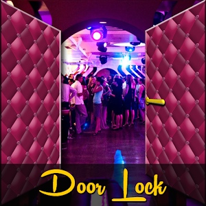 Door Lock Screen - Disco Club