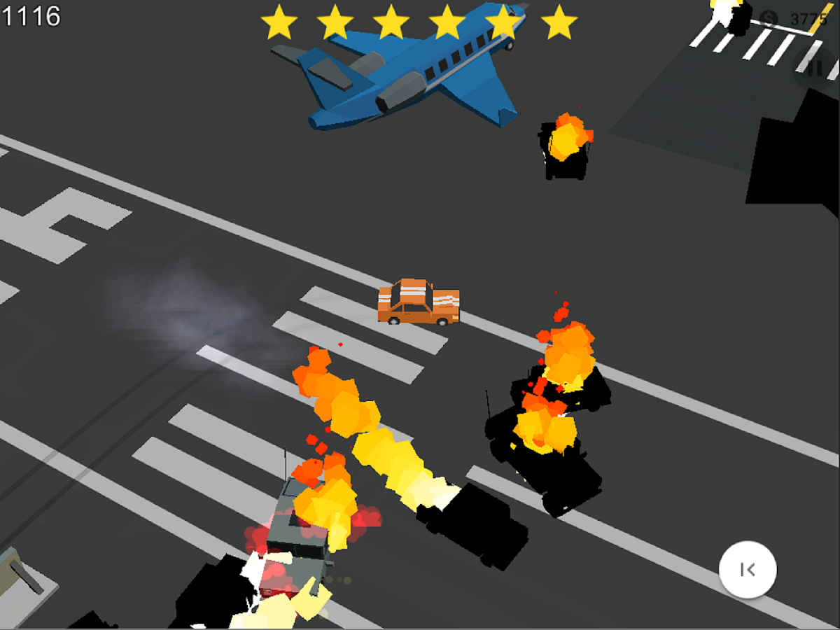 Crazy Racing: Cops Smasher Screenshot 3
