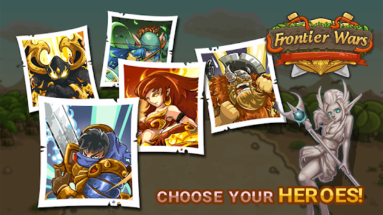 Game Frontier Wars APK for Windows Phone