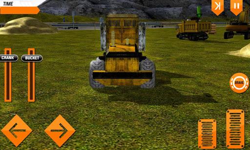 Construction Truck Hill Sim - screenshot