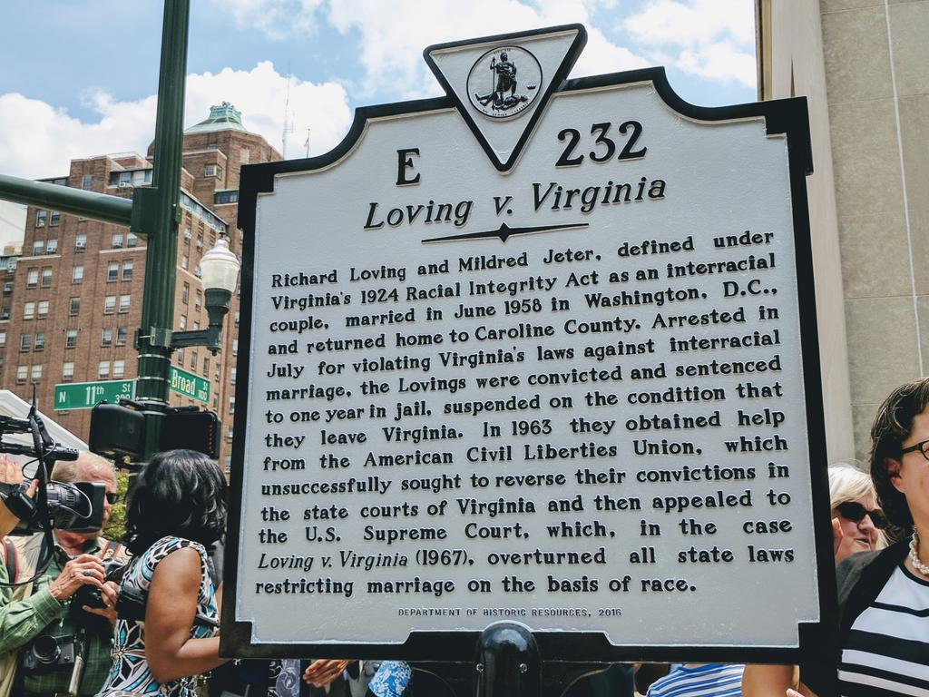 Loving v. Virginia Richard Loving and Mildred Jeter, defined under Virginia's 1924 Racial Integrity Act as an interracial couple, married in June 1958 in Washington, D.C., and returned home to ...