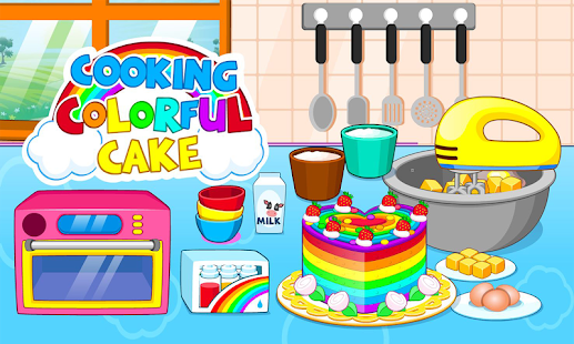 Game Cooking colorful cake APK for Windows Phone