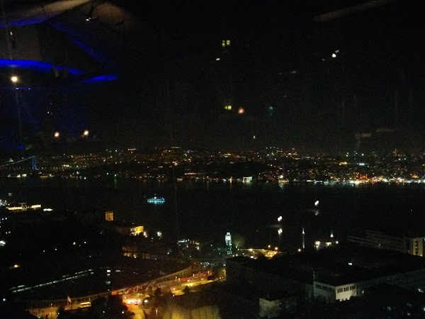 Istanbul from City Lights Bar