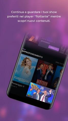 Mediaset Play Screenshot