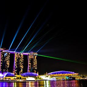 Laser show by Hangga Pribadi - City,  Street & Park  Vistas