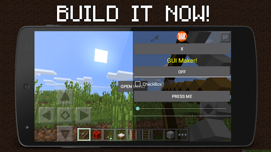 download android app gui mod maker for mcpe pro for samsung - Android Ui Maker