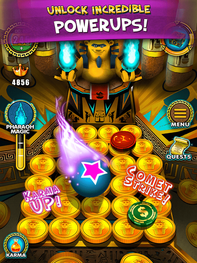 Pharaoh's Party: Coin Pusher Screenshot 14