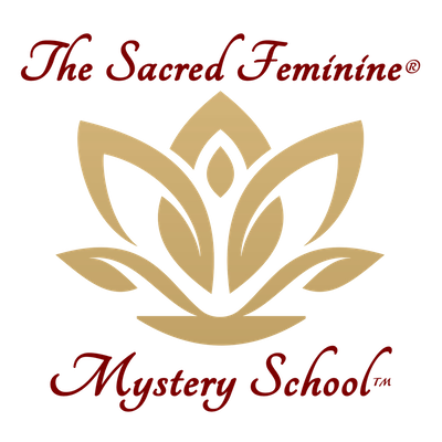The Sacred Feminine Mystery School Logo