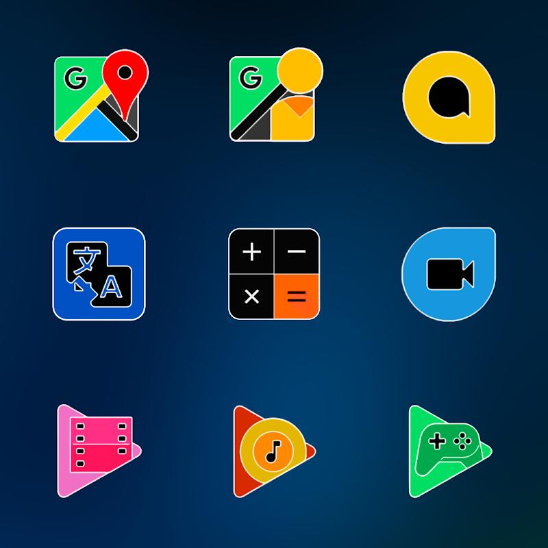 FLUOXYGEN - ICON PACK Screenshot 6