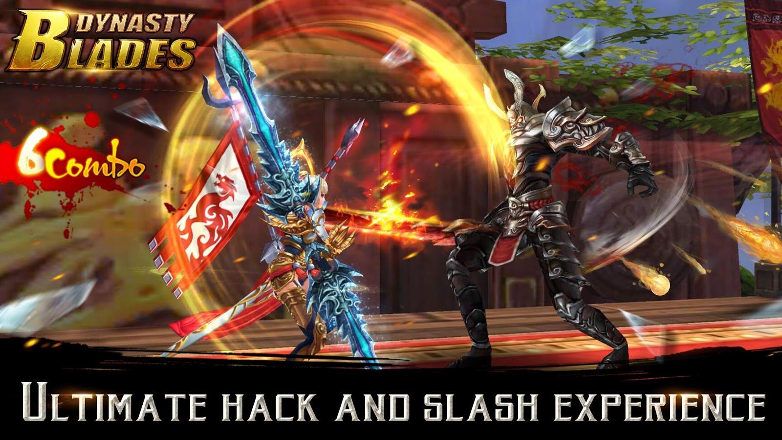 Dynasty Blades: Warriors MMO Screenshot 1
