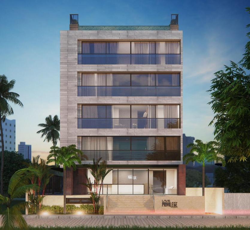 Apartamento com 1 dormitório à venda, 36 m² por R$ 245.000 - Intermares - Cabedelo/PB