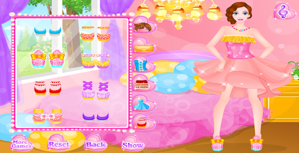 princess makeover and dress up- screenshot