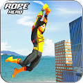 Amazing Rope Man hero: Police Crime City Gangster APK