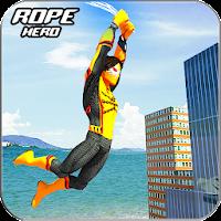 Amazing Rope Man hero: Police Crime City Gangster on PC (Windows & Mac)