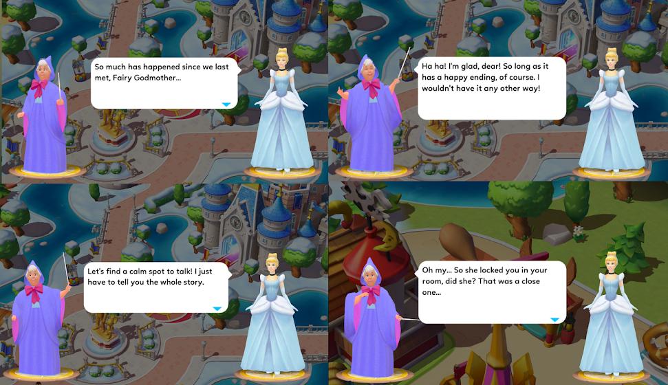 Cinderella Talks With Fairy Godmother 1/2