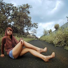 by Ilham Putra Pratama  - People Portraits of Women