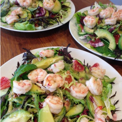 Prawn Salad with Avocado Citrus Vinaigrette