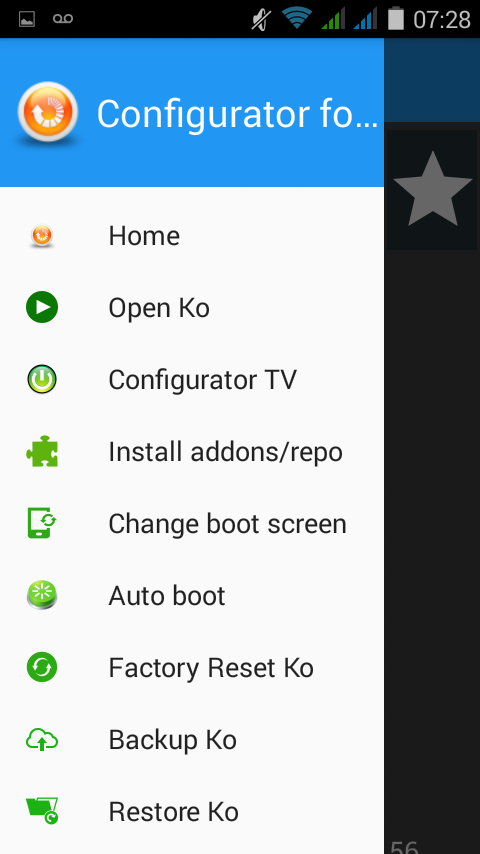 Configurator4Kodi TV Screenshot 2