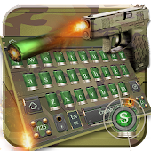 App Army Gun Bullet Keyboard APK for Windows Phone