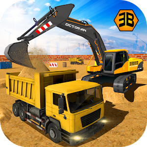 Heavy Excavator Crane - City Construction Sim 2017 For PC