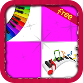 Pink Singer Piano Tiles APK for Bluestacks