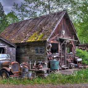 Old Farm by Dennis McClintock - Buildings & Architecture Decaying & Abandoned ( old farm, decaying, abandoned )